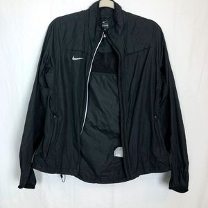 Nike Size Medium Windbreaker Black